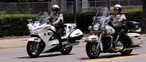 US Police Officers Start Preferring Honda over Harley Motorcycles