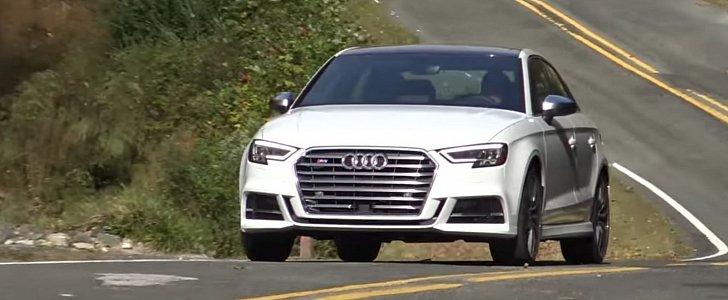 us-spec 2017 audi s3 sedan review highlights virtual cockpit, new