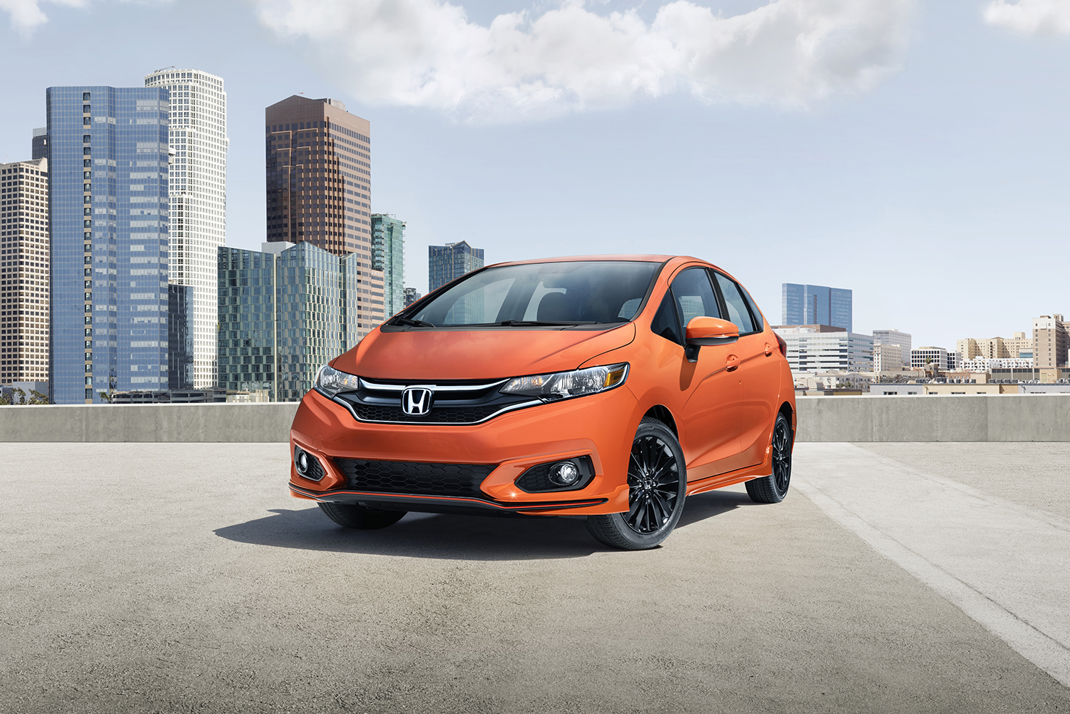 Honda Fit Gets a New Face, Added Safety Gear