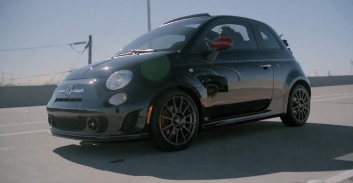 us spec fiat 500c abarth cabrio makes video debut. Black Bedroom Furniture Sets. Home Design Ideas