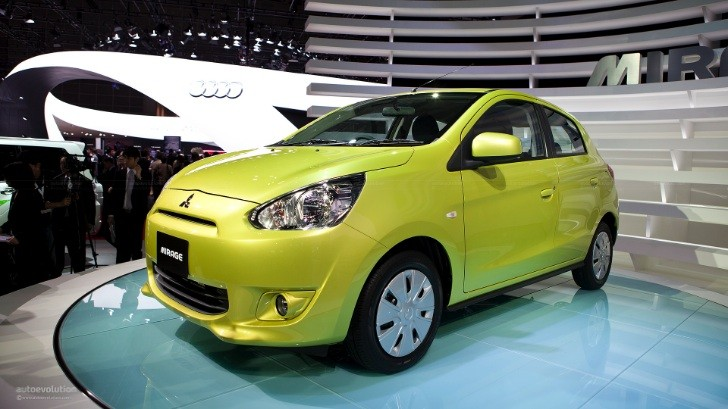 US-Spec Mitsubishi Mirage Will Have 3-Cylinder 1.2L