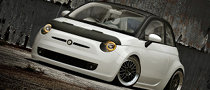 US-Style Custom Fiat 500 Rendered
