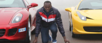Usain Bolt Tests a Ferrari 458 Italia in Maranello [Gallery]