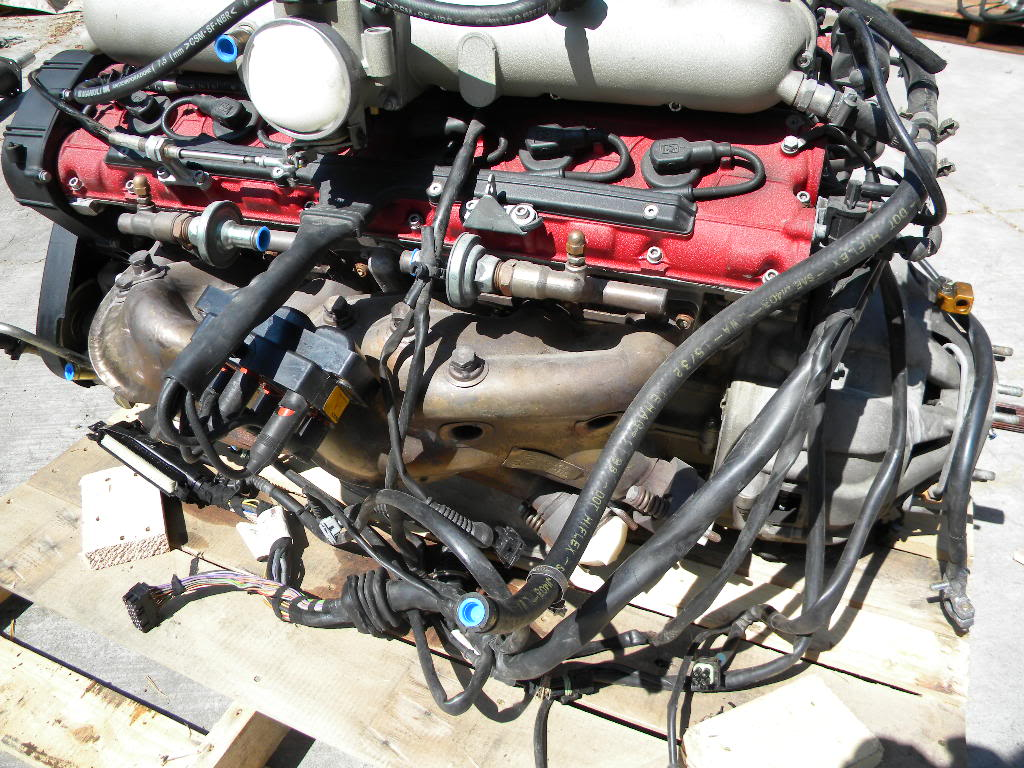 Used Ferrari 550 Maranello V12 Engine For Sale on eBay