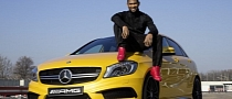 Usher Drives the Mercedes A45 AMG [Video]