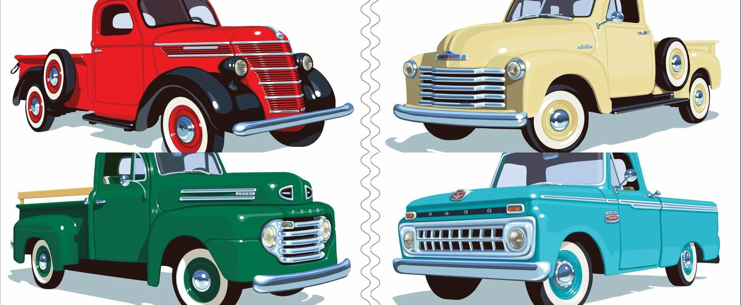 USPS Celebrates Classic Pickup Trucks with Collectible