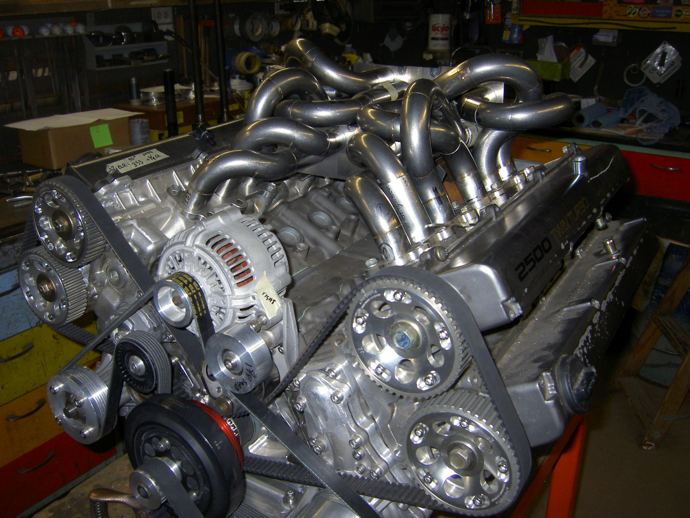 V12 Built By Joining Two Toyota Supra Engines a Retired
