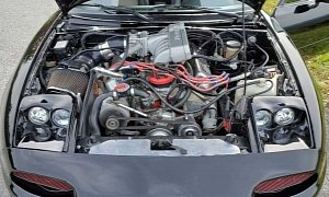 V8-swapped Mazda Miata Packs Ford 408 Stroker Engine