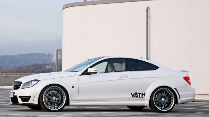 Vaeth Supercharges the Mercedes-Benz C63 AMG Coupe