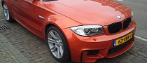 Valencia Orange BMW 1M Coupe Spotted in the Netherlands