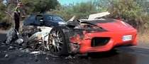 Valencia's Banega Loses Ferrari to Fire [Video]