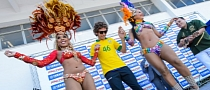 Valentino Rossi and the Beautiful Brazilian Dancers [Photo Gallery]