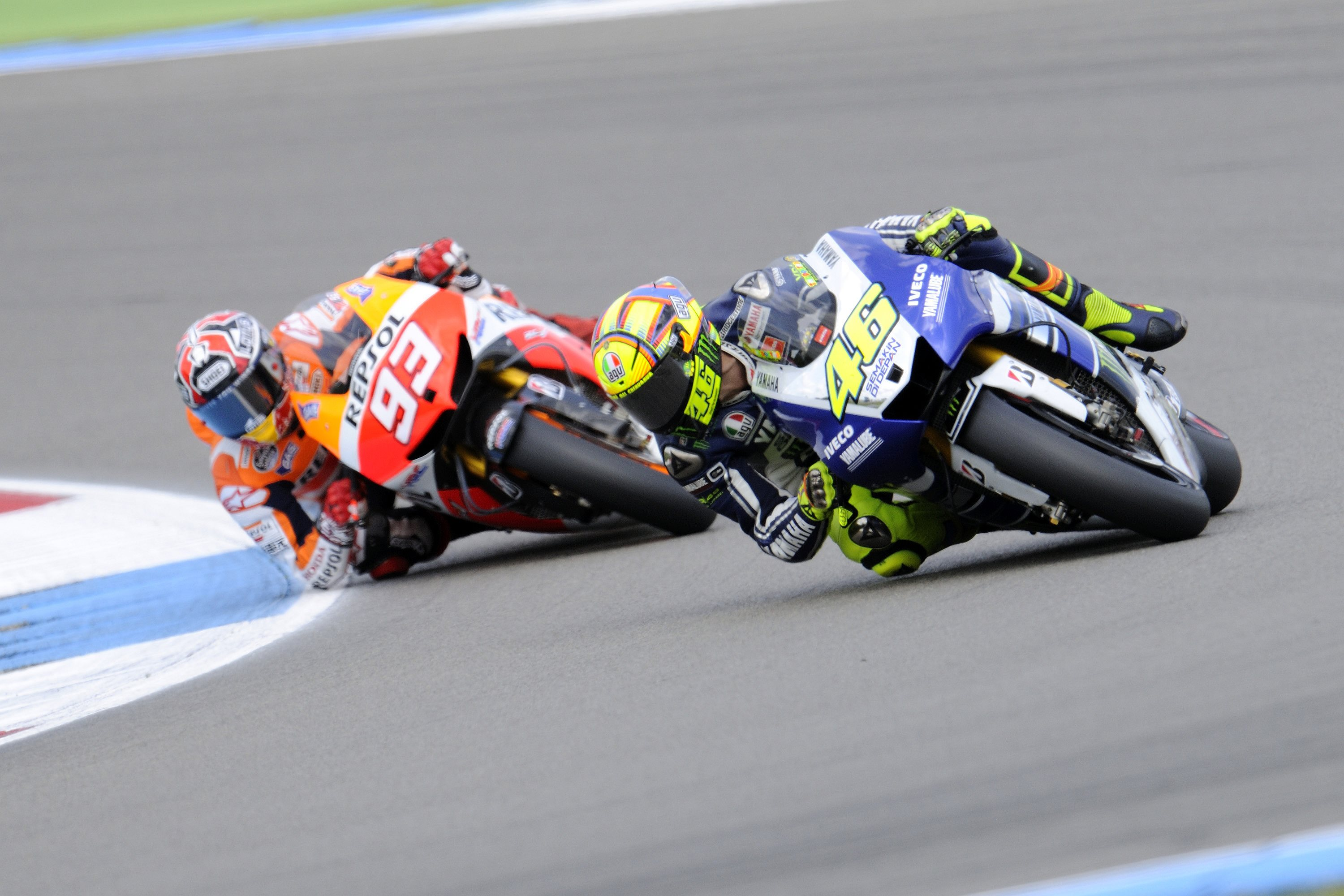 valentino rossi believes he s in the best shape of his career 90511 1 Honda Sebut Rossi Tendang Marquez, Yamaha Murka