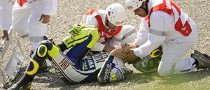 Valentino Rossi Breaks Leg, Sidelined for 6 Weeks