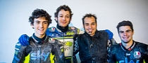 Valentino Rossi Introduces His Moto3 Team at the Tavullia Ranch