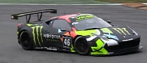 Valentino Rossi Races a Ferrari 458 GT3 at Monza [Video]