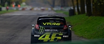 Valentino Rossi Second in the Monza Rally Show