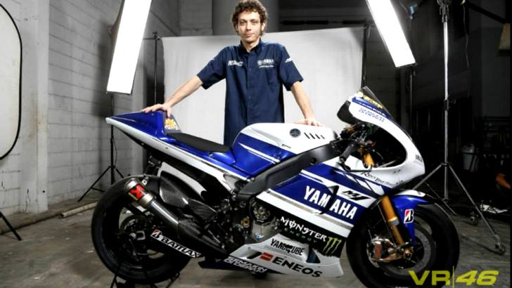 Valentino Rossi Shows His 2014 Yamaha Yzr M1 Autoevolution