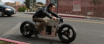 Valetta, the Customizable Electric Motorcycle Prototype [Photo Gallery][Video]