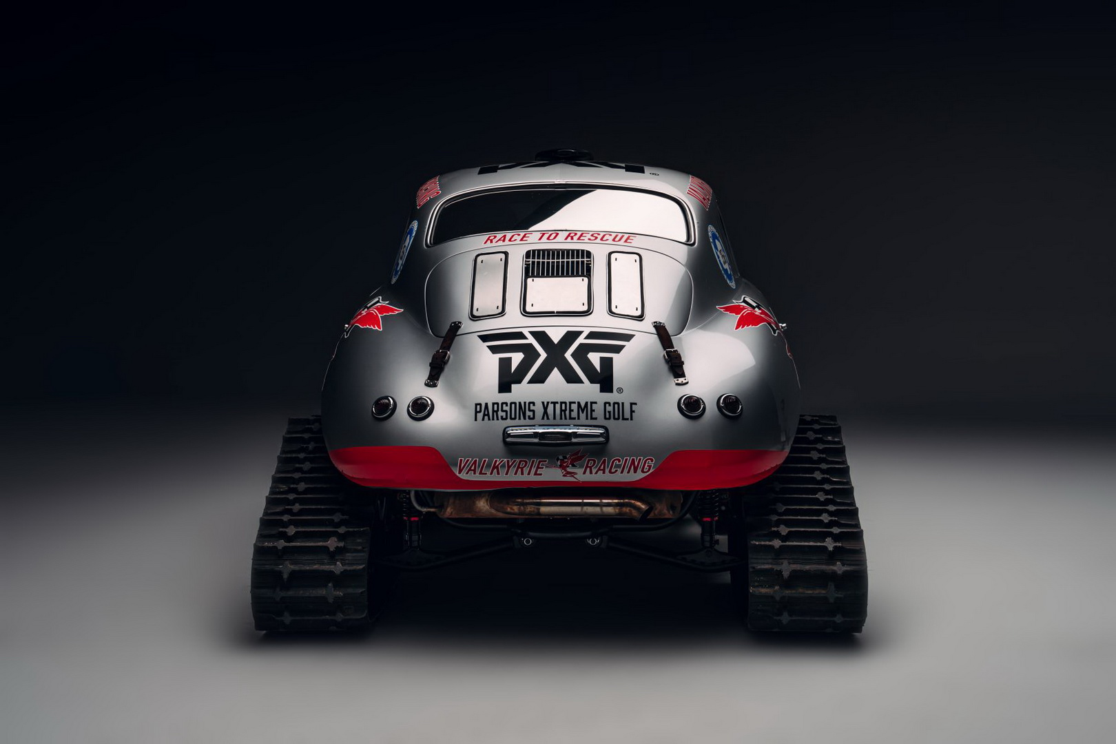 Valkyrie Racing's Porsche 356 Is Prepped To Conquer Antarctica, Becomes a Snow Beast