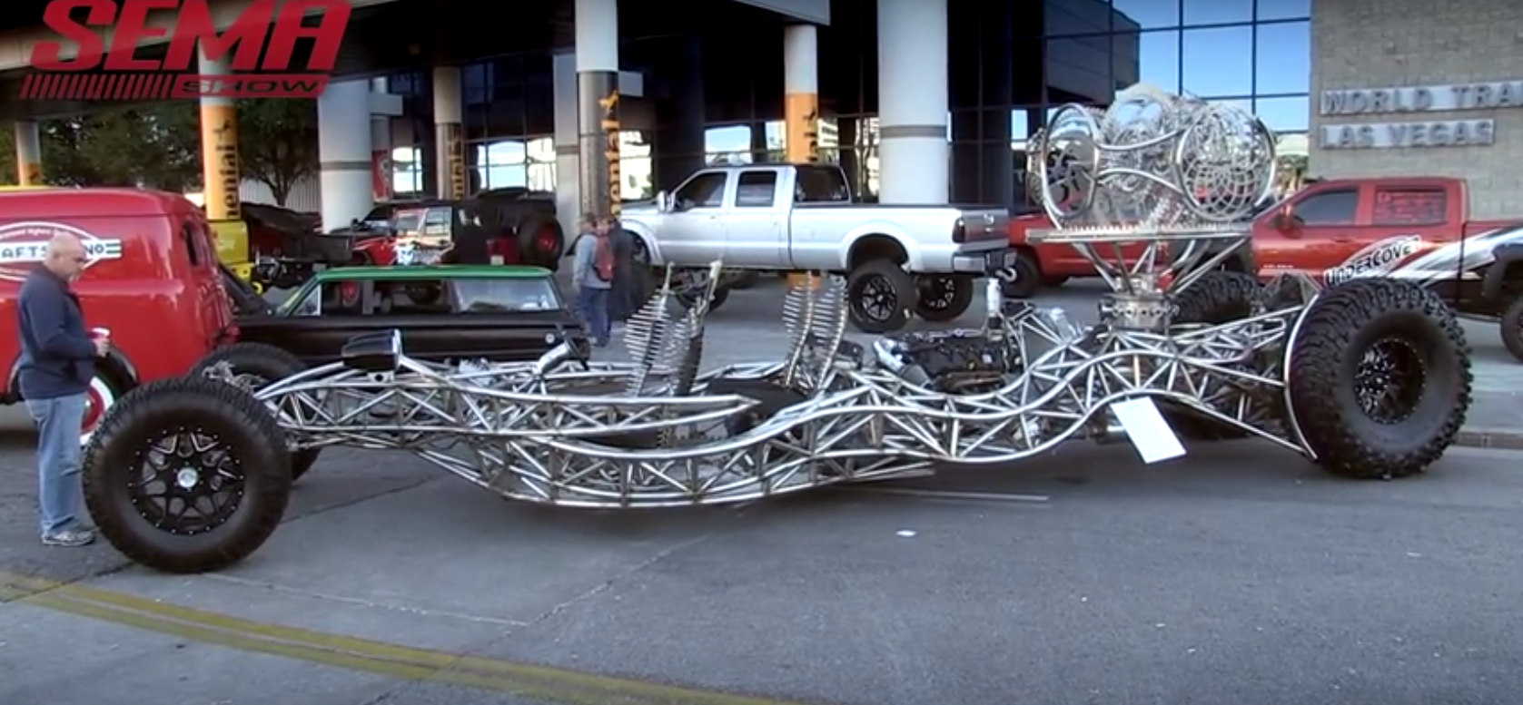 Valyrian Steel, the Weirdest Car at the 2015 SEMA Show, Was Made for ...