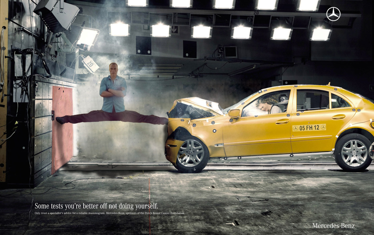 Van Damme's Epic Split Keeps a Mercedes-Benz From Hitting a Wall - autoevolution