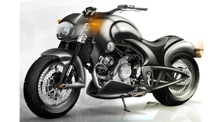vardenchi to unveil moto morini based t5 custom roadster autoevolution. Black Bedroom Furniture Sets. Home Design Ideas