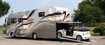 Vario Perfect Platinum Motorhome with MINI Cabrio Garage