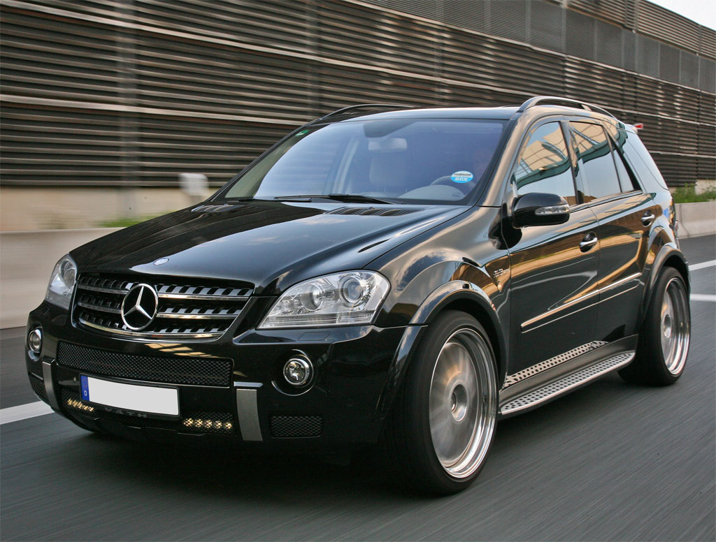 vath introduces the 585 hp 2009 ml63 amg mercedes benz - Mercedes Benz Suv 2009