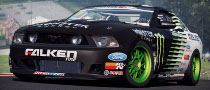 Vaughn Gittin Jr. Drift Car and Mustang RTR-X in NFS SHIFT 2 Unleashed [Video]