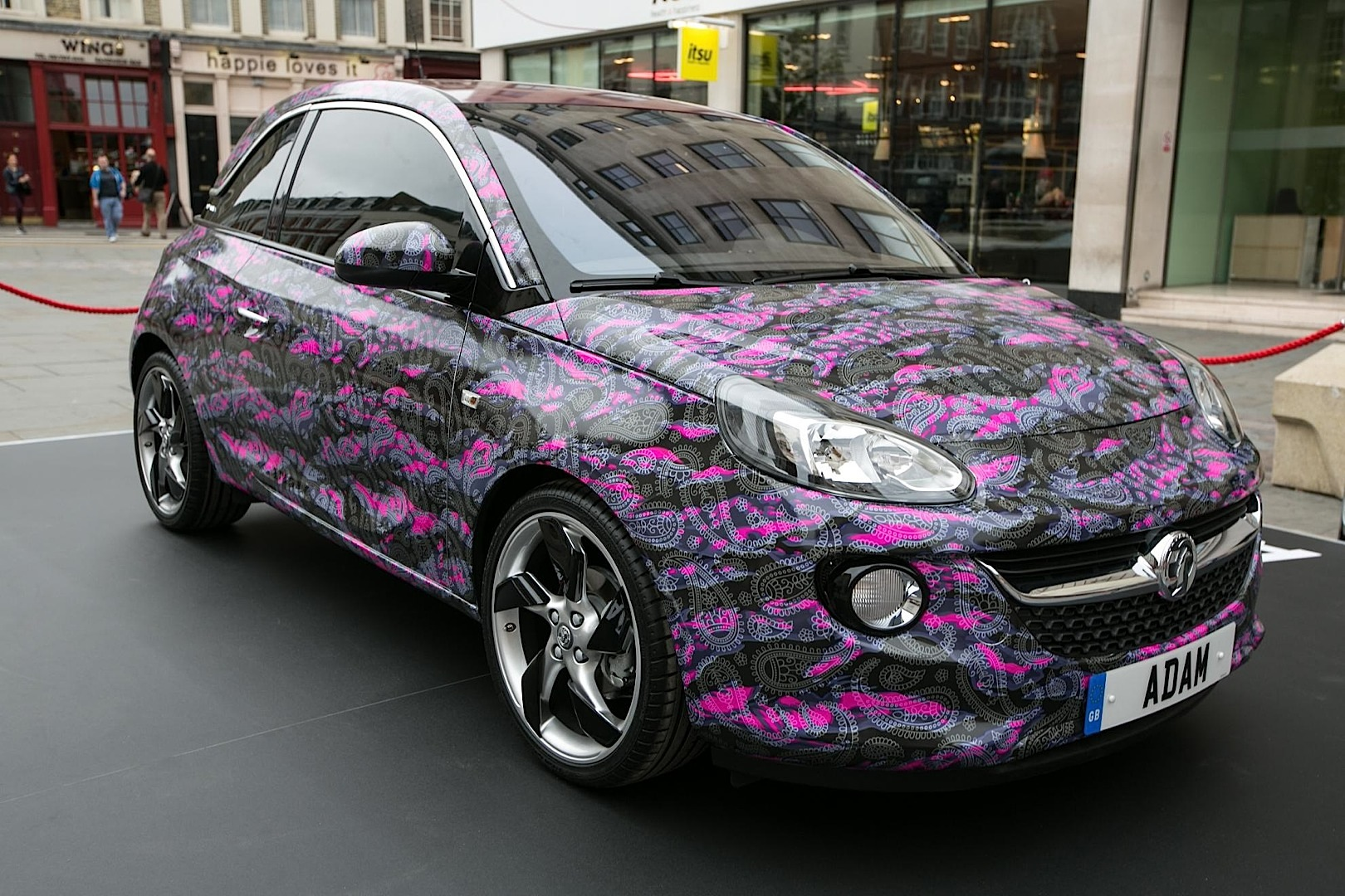 vauxhall opel adam gets 3 one off fashion editions autoevolution. Black Bedroom Furniture Sets. Home Design Ideas