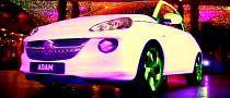 Vauxhall Adam Puts On a Light Show in Glasgow [Video]