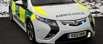 Vauxhall Ampera Ambulance Saves Lives and Fuel