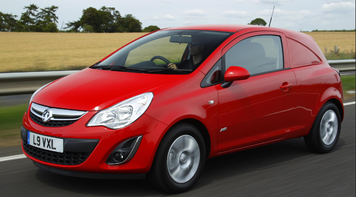 Vauxhall Corsa Selling Well… as a Van