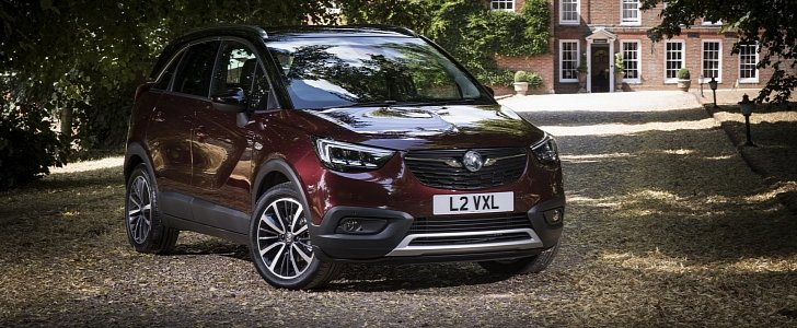 vauxhall crossland x ultimate launched is ready for vw t cross autoevolution. Black Bedroom Furniture Sets. Home Design Ideas