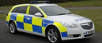 Vauxhall Insignia Police Car Flexes Its Muscles for French Law Enforcers