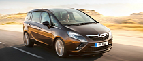 Vauxhall Zafira Tourer Base UK Price Announced