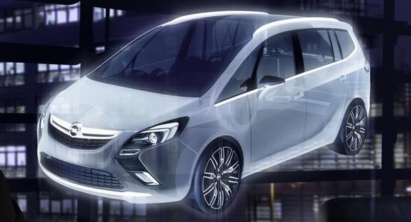 Vauxhall Zafira Tourer Concept Makes World Debut In Geneva