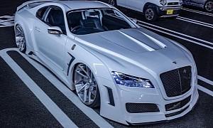 "VeilSide Toyota Supra ""Diamond"" Almost Looks Like a Bentley Sports Car"