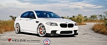 Velos BMW M5 on HRE Wheels [Photo Gallery]