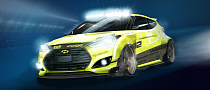 Hyundai Veloster Turbo Yellowcake Coming to 2013 SEMA