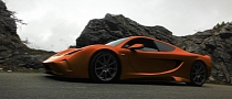 Vencer Sarthe Supercar to Make UK Debut at Salon Prive 2013