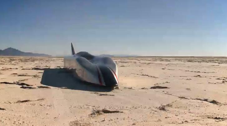 Venturi EV To Break 700 Km H On The Salt Flats In 2014