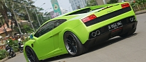 Verde Ithaca Gallardo LP560 on ADV.1 Wheels [Photo Gallery]