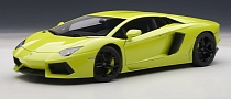 Verde Ithaca Lamborghini Aventador Scale Model [Photo Gallery]