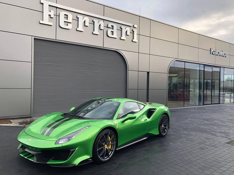 Verde Kers Lucido Ferrari 488 Pista Shows Crazy Spec Autoevolution