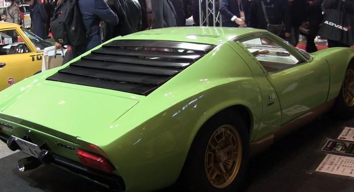 Very Accurate Lamborghini Miura Replica Shows Up At 2015 Tokyo Auto