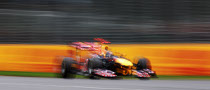 Vettel Flies to Australian GP Pole