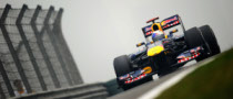 Vettel Tops First Practice in China