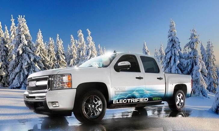 VIA Motors to Debut GM-based Electric Trucks and vans in LA - autoevolution